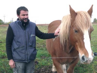 Domaine Michel Bregeon - Fred et son cheval