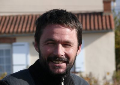 Fred LAILLER, winegrower domaine Michel BREGEON
