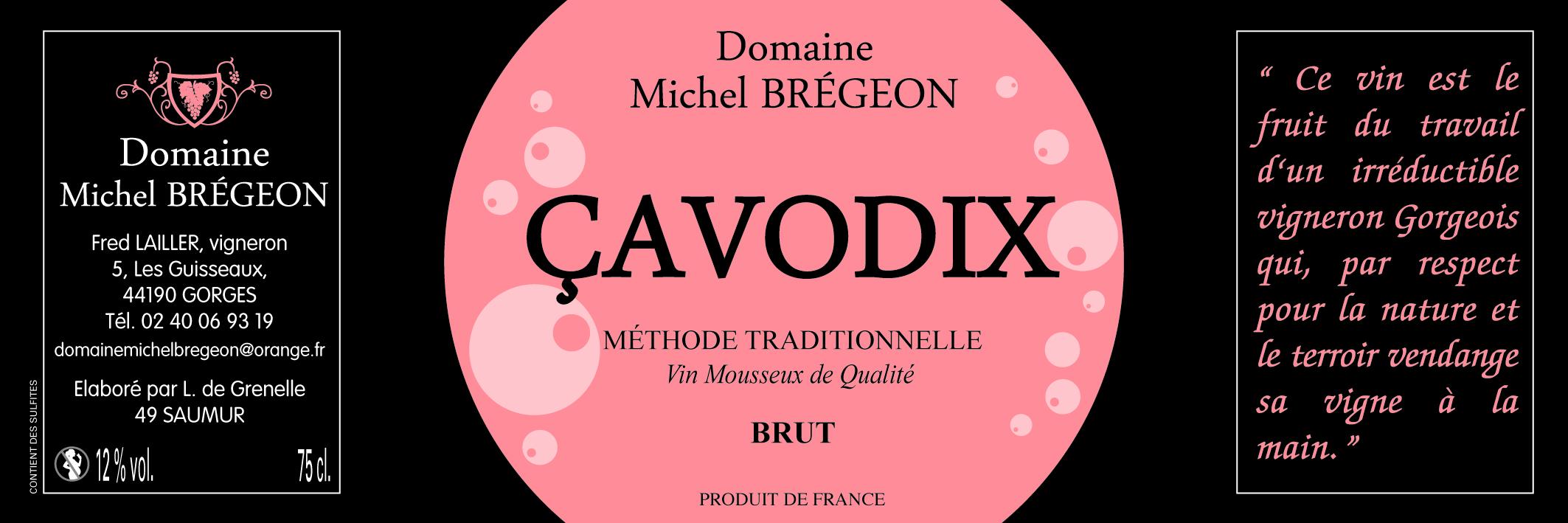 Cavodix - Méthode tradionnelle - Rosé